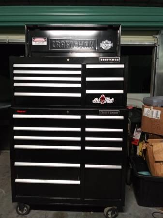 Photo Craftsman Professional EDGE Series tool box chest combo - $800 (Reno)