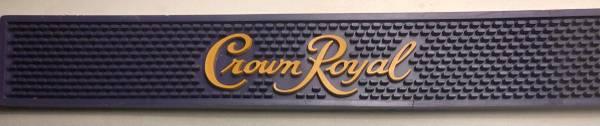 Photo Crown Royal Bar Top Mat - $20 (Spanish Springs)