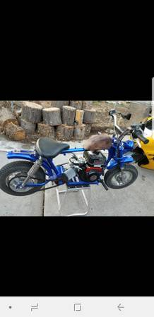 Photo Custom built mini bike - $600 (Reno)