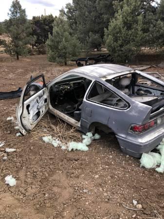 Photo Free old Honda CRX shell (Reno)