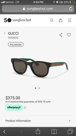 Photo Gucci glasses n watch - $1 (Sparks)