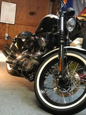 Photo Harley 0739 XL 1200N Nightster sportster - $6,200 (Gardnerville)