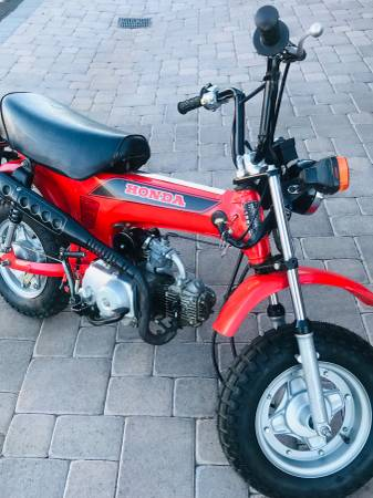 Photo Honda CT-70 - $2,250 (RenoSparks)