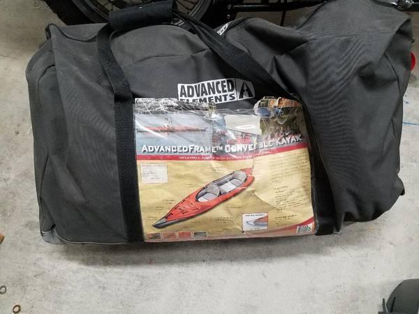 Photo Inflatable Kayak, Advanced Elements Tandem - $250 (Reno)