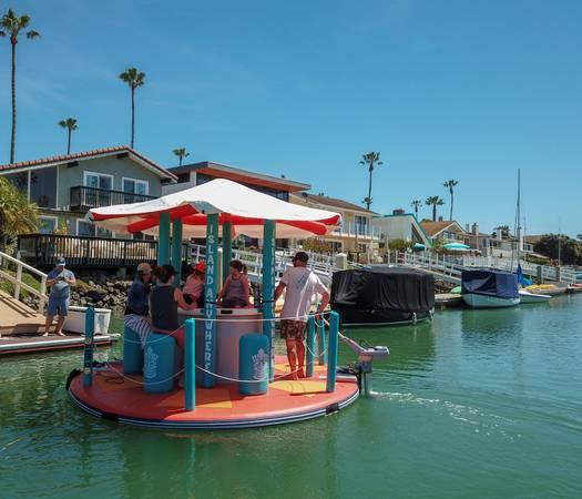 Inflatable Tiki Bar Boat - $4000