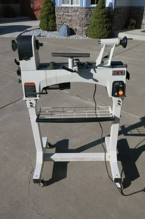 Photo Jet JWL-1221VS Wood lathe with extras - $1,000 (Carson City)