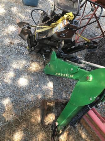 Photo John Deere Backhoe Attachment, Model 47 - $2,500 (Portola)