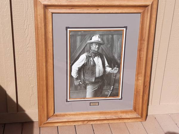 Photo John Wayne Classic Picture - $125 (Reno)