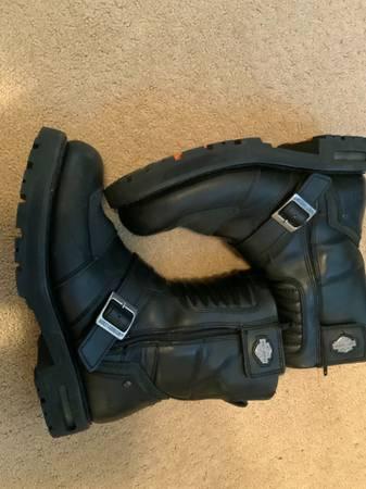Photo Mens Harley Davidson Boots NEW - $165 (Sparks)