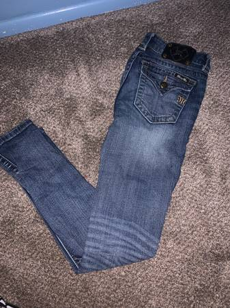 Photo Miss Me jeans size 26 skinny - $70 (Reno)