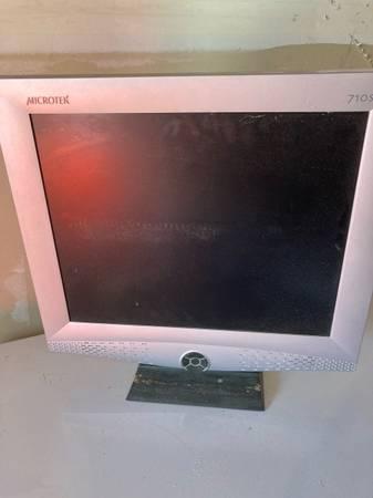 Photo Old flat screen monitor (Carson City)
