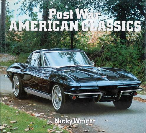 Photo Post War American Classic Cars - 1983 Hardcover NOS - $8 (Southwest Reno)