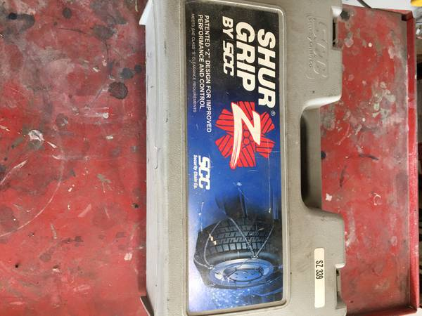 Photo Shur Grip Z Cable Tire Chains - $40 (Spanish Springs)