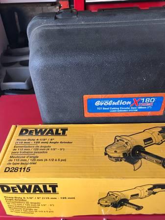 Photo Snap-on Dewalt Victor torque wrench angle grinder weldingtorchhose (Cold springs)