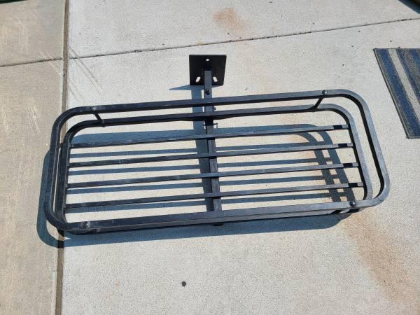 Photo Spare Tire Carrier Basket Cargo Rack for Jeep Wrangler  similar - $100 (NW Reno)