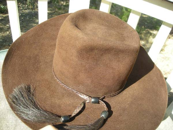 Photo TWO HATS Stetson and Resistol Nice Beaver cowboy western rodeo BOTH - $75 (Reno Red Rock Rancho Haven)