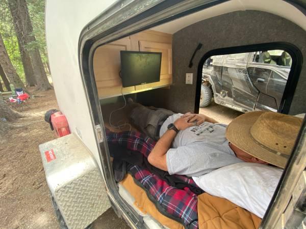 Photo Tiny UTV Teardrop Sleeper Trailer - $4,500 (Reno)