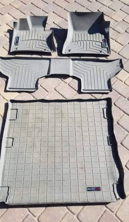Photo Weather Tech Floor Mats for BMW X5 (Full Set) - $100 (South Reno)
