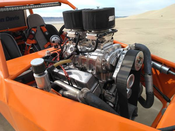 Photo ready 2 run Blower motor w holley efi - $12000 (Sell or trade )