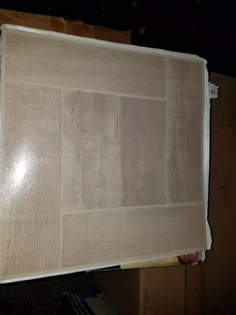 Photo 12 in. x 12 in. Peel and Stick Parquet Vinyl Tile - $30 (Mechanicsville, Va)
