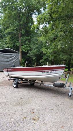 Photo 14 ft Northwood V-bottom fishing boat - $3500 (Chesterfield)