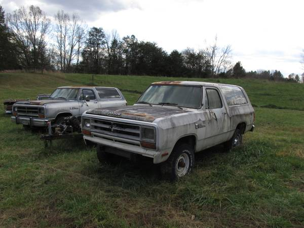 Photo 1987 Dodge RamChargers x 2 - $5,000 (Goochland)