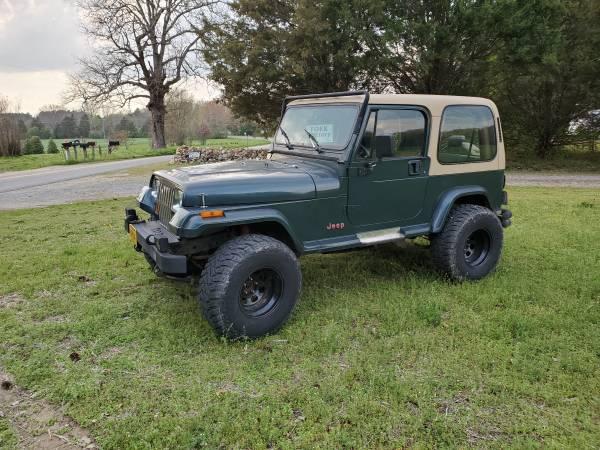 Photo 1994 Jeep Wrangler Sahara 4.0 - $4250 (North Ashland)