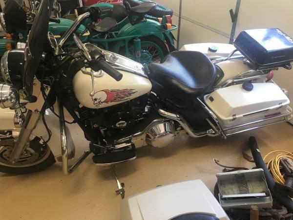 Photo 1998 Harley Davidson Police Road King - $6,800 (chesterfield, va)