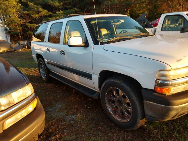 Photo 2002 suburban with 20 inch rims - $1600 (Cumberland)