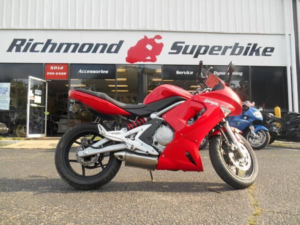 Photo 2007 Kawasaki Ninja 650R - $4995 (richmond)