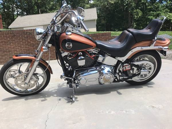 Photo 2008 Harley Davidson Softail Custom - $9,500 (south hill va)