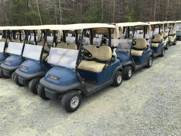 Photo 2015 Club Car Electric Golf Cars- Blue - $2650 (Glen Allen)
