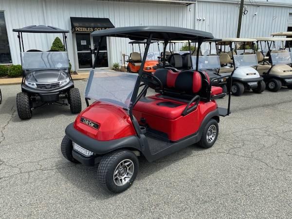 Photo 2016 Club Car Electric Golf Car 4-passenger- RED - $6,750 (Glen Allen)