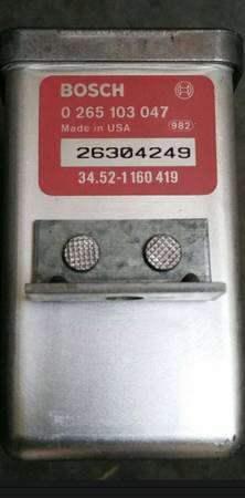 Photo BMW 525i ABS CONTROL MODULE - $49 (Midlothian)