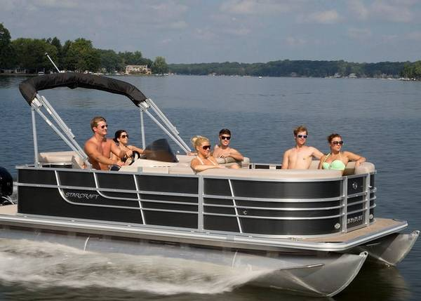 Photo BOAT SHOW SPECIAL NEW 2019 20FT PONTOON WITH FOURSTROKE YAMAHA for - $19995 (Henderson)