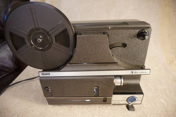 Photo Bell and Howell 8mm Film Projector Model 1620 - $65 (Petersburg)