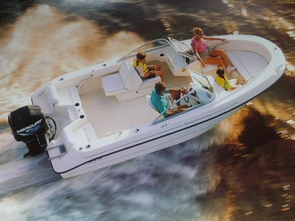 Photo Boston Whaler 1839 Ventura 150hp Yamaha  Trailer Loaded with low hours - $1 (VIRGINIA BEACH)