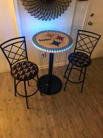 Photo CUSTOM PUB TABLES AND BAR STOOLS (West End)