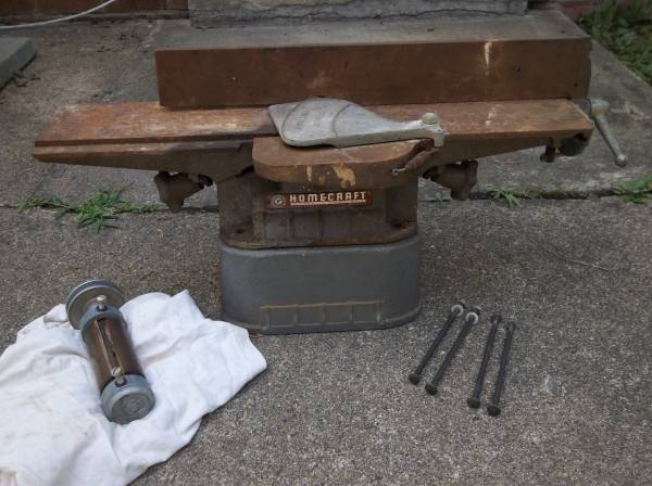 Photo Delta Rockwell Homecraft 4quot Jointer  extra parts - $95 (henrico)