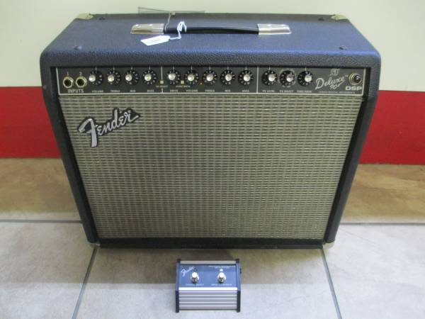 Photo Fender Deluxe 90 DSP 2-Channel 90W 1x12quot Solid State Guitar Amp - $225 (2203 Brook Rd)