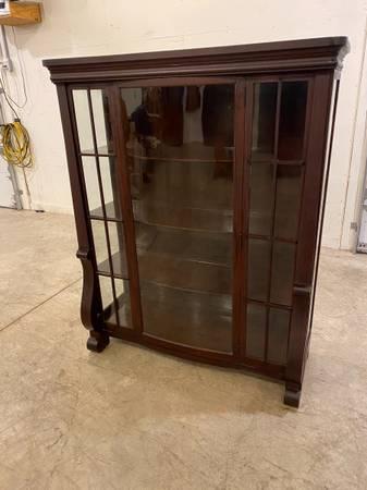 Photo Glass Front Bookcase - $295 (Rockville)