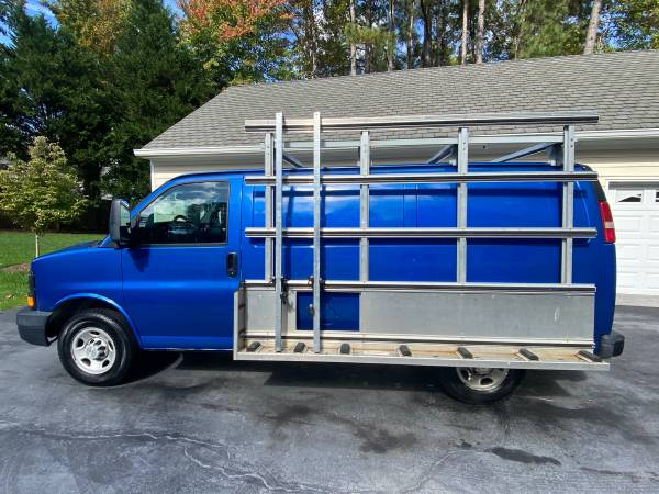 Photo Glass  Ladder rack for van, Chevy Express, Ford Econoline, Chevrolet - $850 (Richmond)