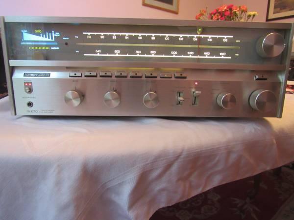 Photo Harman Kardon HK670 twin powered DC receiver in excellent condition - $275 (Midlothian)