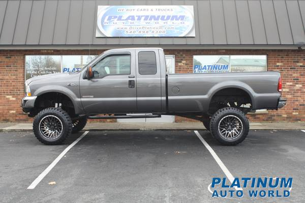 Photo LIFTED -2004 FORD F-250 X-CAB LONG BED 4X4 DIESEL - $17,995 (Fredericksburg)