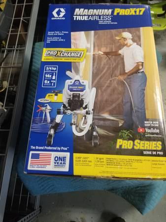 Photo Magnum Pro X 17 paint sparyer true airless new. - $400 (Glen allen)