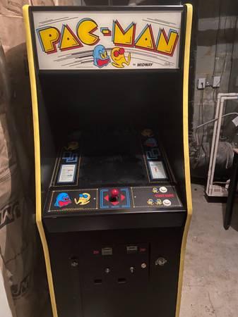 Photo Multicade pac man arcade game over 40 games - $495 (Short pump)