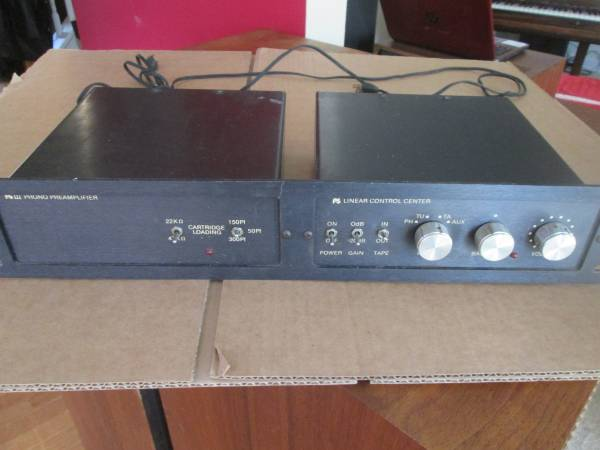 Photo PS Audio Linear Control Center with PS3 phono pre - $225 (Midlothian)