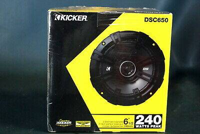 Photo Pair of Kicker DS Series 6.5quot 2-Way 240W Car Speakers NEW FACTORY SEA - $55 (Richmond - Southside)