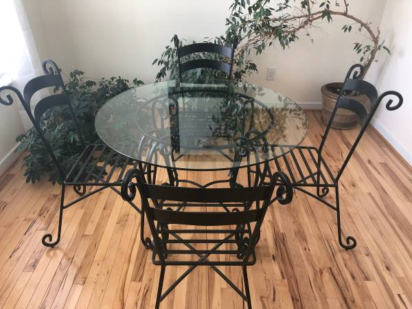 Photo Pier 1 Wrought Iron Table  Chairs - $600 (Richmond)