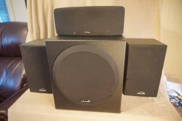 Photo Polk Audio AV Sound System Speakers, Sub (Tri-Cities)